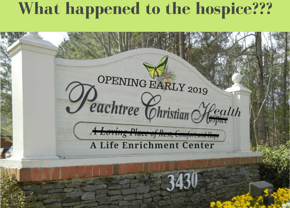 What happened to the hospice?