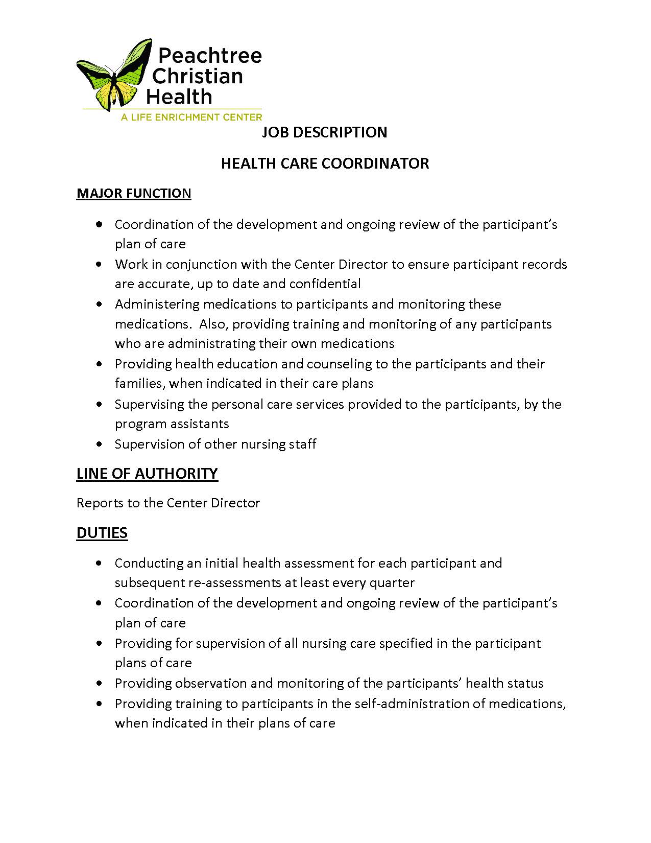 PCH Job Description Health Care Coordinator_Page_1