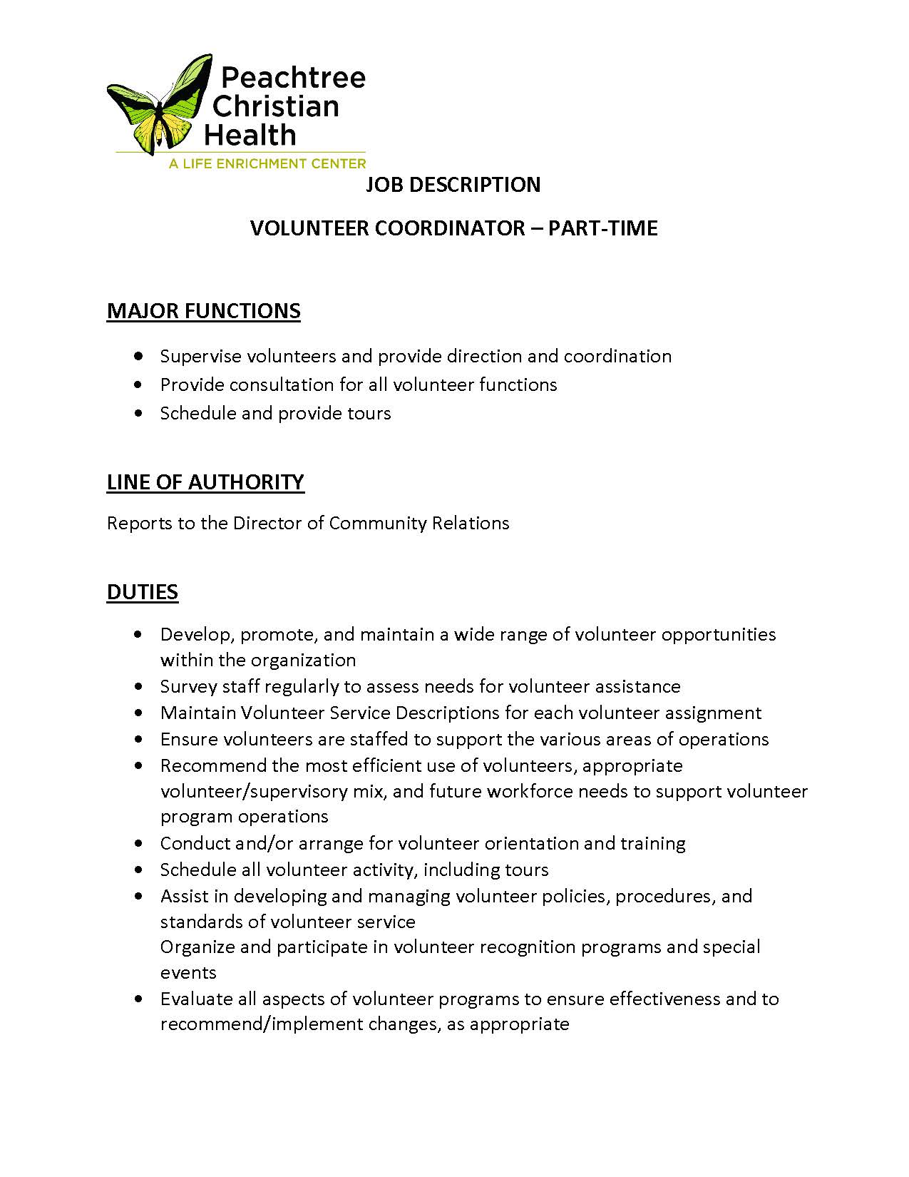 PCH Job Description- Volunteer Coordinator - 3 18 19 (1)_Page_1